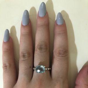 Pandora Ring Blue Stone 100% Authentic